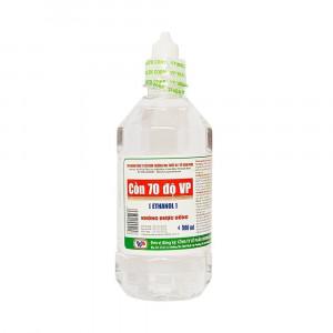 Cồn sát trùng 70 độ Vĩnh Phúc (chai 500ml)