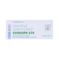Thuốc điều trị triệu chứng bệnh Parkison Syndopa 275 (5 vỉ x 10 viên/hộp)