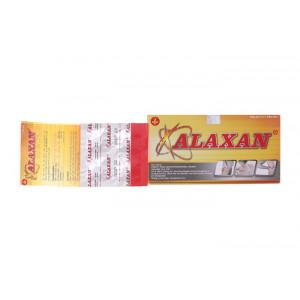 Thuốc điều trị giảm các cơn đau cơ xương nhẹ đến trung bình, nhức đầu Alaxan (25 vỉ x 4 viên/hộp)