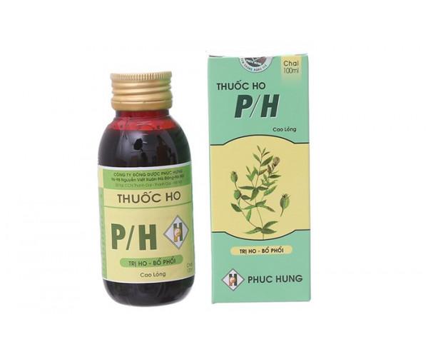 Thuốc điều trị các triệu chứng Ho P/H (100ml)