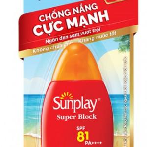 Sữa chống nắng Sunplay Super Block SPF81 PA++++ 30g