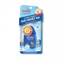 Sữa chống nắng giải nhiệt da, ngăn sạm đen Sunplay Super Cool SPF50+ (30g)