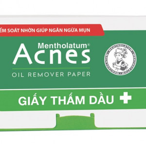 Giấy thấm dầu Acnes Mentholatum (100 tờ/gói)