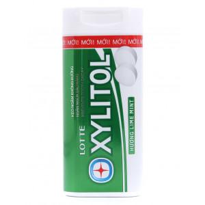 Kẹo ngậm không đường hương bạc hà Lotte Xylitol (20.88g)