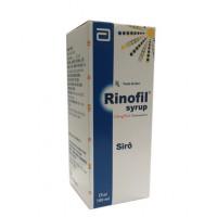 Thuốc giảm các triệu chứng về viêm mũi dị ứng hoặc dị ứng quanh năm Rinofil Syrup 2,5mg/5ml (100ml)