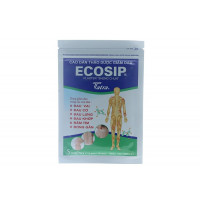 Cao dán thảo dược giảm đau Ecosip (20 gói x 5 miếng/hộp)