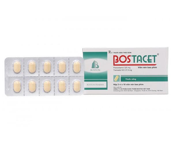 Thuốc giảm đau Bostacet (2 vỉ x 10 viên/hộp)