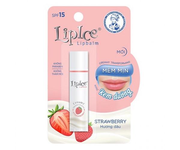 Son dưỡng môi hương dâu Lipice Lipbalm (4.3g)