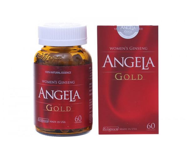 Thực phẩm chức năng tăng cường sức khỏe sinh lý nữ Sâm Angela Gold (60 viên/hộp)