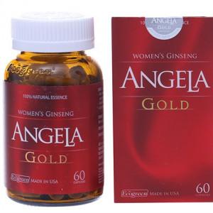 Thực phẩm chức năng tăng cường sức khỏe sinh lý nữ Sâm Angela ld (60 viên/hộp)