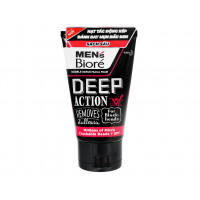 Sữa rửa mặt sạch sâu Men's Biore Deep Action For Black-heads 100g