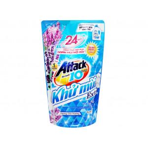 Nước giặt Attack Extra khử mùi hương hoa oải hương (1.4 lít/túi)