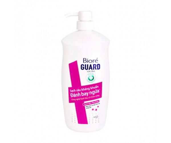 Sữa tắm sạch sâu kháng khuẩn thư giãn Bioré Guard (800g)