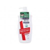 Sữa tắm sạch sâu kháng khuẩn năng động Bioré Guard (800g)