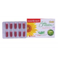 Viên uống điều trị rối loạn nội tiết Bảo Xuân Gold (3 vỉ x 10 viên/hộp)