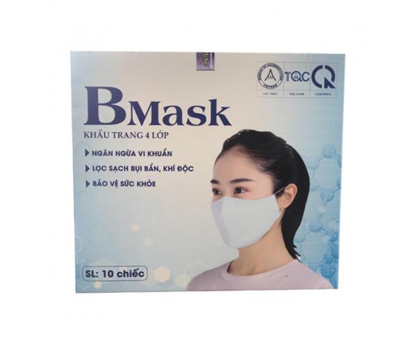 Khẩu trang vải kháng khuẩn 4 lớp B Mask (10 chiếc/hộp)