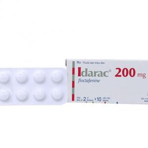 Thuốc giảm đau Idarac 200mg (2 vỉ x 10 viên/hộp)