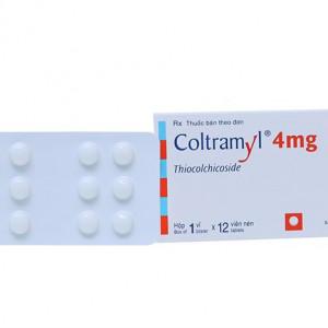 Thuốc giãn cơ Coltramyl 4mg (12 viên/hộp)