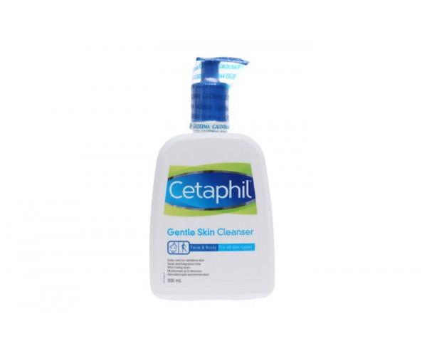 Sữa rửa mặt dịu nhẹ dành cho da nhạy cảm Cetaphil Gentle Skin Cleanser 500ml