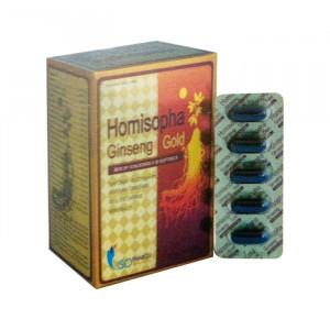 Homisopha Ginseng ld (12 vỉ x 5 viên/hộp)