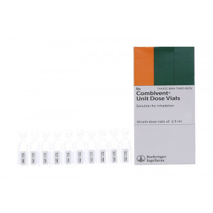 Dung dịch khí dung trị hen Combivent 2.5ml (10 ống/hộp)