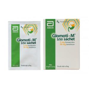 Thuốc trị nôn, buồn nôn Glomoti-M (12 gói/hộp)