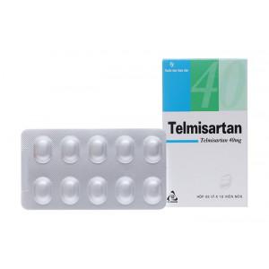 Telmisartan TV.Pharm 40mg (3 vỉ x 10 viên/hộp)