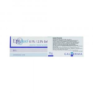 Gel trị mụn trứng cá Epiduo 0.1%/2.5% (15g/tube)