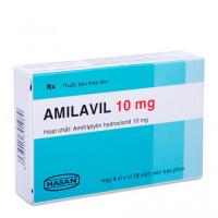 Thuốc điều trị trầm cảm Amilavil Hasan 10mg (4 vỉ x 15 viên/hộp)