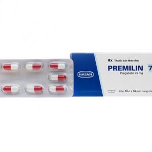 Thuốc trị động kinh Premilin 75mg (3 vỉ x 10 viên/hộp)