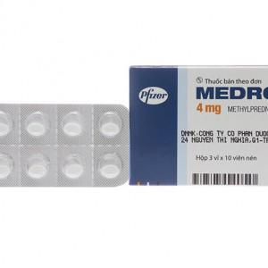 Thuốc kháng viêm Medrol 4mg (3 vỉ x 10 viên/hộp)