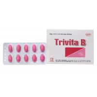 Thuốc bổ sung vitamin B1, B6, B12 Trivita B (10 vỉ x 10 viên/hộp)