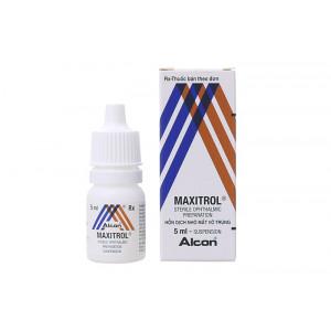 Hỗn dịch nhỏ mắt vô trùng Maxitrol (5ml)