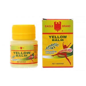 Dầu cù là vàng con ó giảm đau – chống cảm lạnh Eagle Brand Yellow Balm 40g