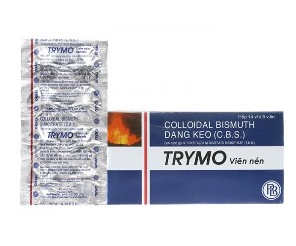 Thuốc trị viêm loét dạ dày, tá tràng Trymo (14 vỉ x 8 viên/hộp)