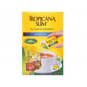 Đường ăn kiêng không calorie  Tropicana Slim Diabetics 2g (50 gói/hộp)