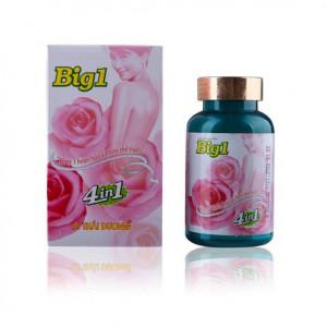 Viên uống tăng kích thước vòng 1 và cải thiện sinh lý nữ  Big 1 (40 viên/hộp)