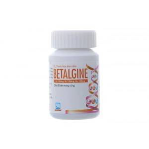 Thuốc bổ sung vitamin B1, B6, B12 Betalgine (80 viên/chai)