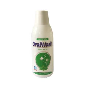 Thuốc súc miệng sát khuẩn vùng họng Oralwash (250ml)