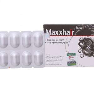 Viên uống giúp mọc tóc nhanh, ngăn ngừa rụng tóc dành cho nam và nữ Maxxhair (3 vỉ x 10 viên/hộp)