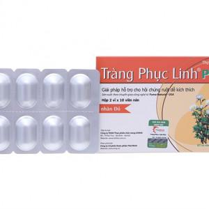 Viên uống hỗ trợ hội điều trị hội chứng ruột kích thích, tăng cường sức đề kháng Tràng Phục Linh Plus (2 vỉ x 10 viên/hộp)