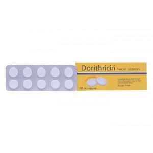 Viên ngậm trị đau họng Dorithricin (2 vỉ x 10 viên/hộp)