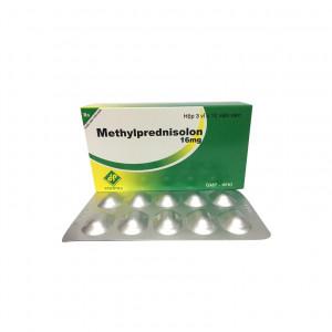 Thuốc kháng viêm Methylprednisolon 16mg Vidipha (3 vỉ x 10 viên/hộp)