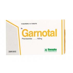 Thuốc trị động kinh Garnotal (10 vỉ x 10 viên/hộp)