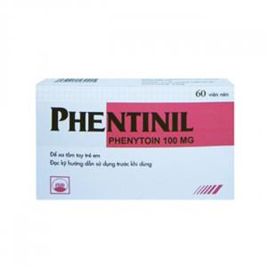 Thuốc trị động kinh Phentinil 100mg (6 vỉ x 10 viên/hộp)