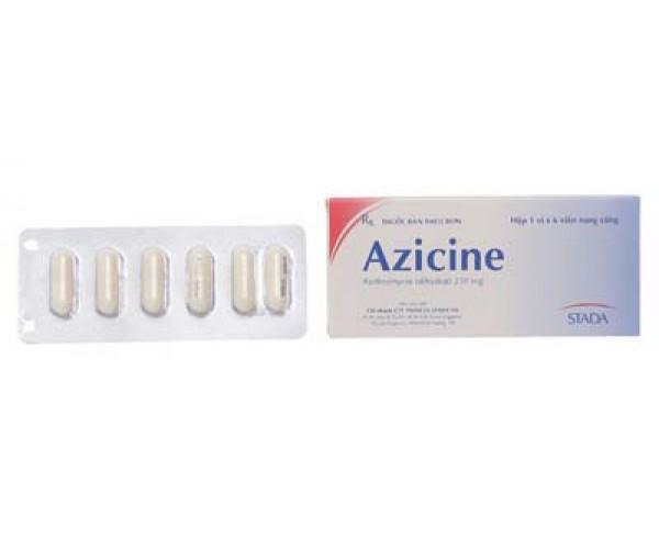 Thuốc kháng sinh Azicine 250mg (6 viên/hộp)