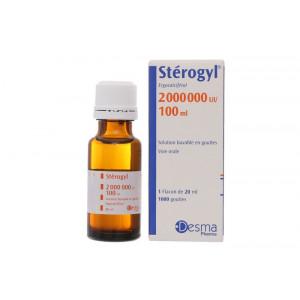 Siro bổ sung vitamin D Sterogyl 2.000.000 UI/100ml (100ml)