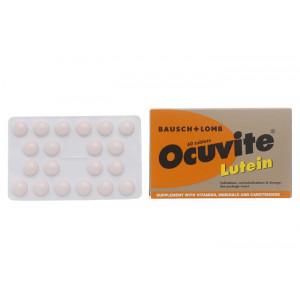 Viên uống bổ mắt, ngăn ngừa thái hóa điểm vàng Ocuvite Lutein (3 vỉ x 20 viên/hộp)