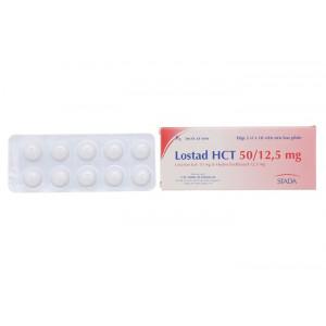 Lostad HCT 50mg/12.5mg (3 vỉ x 10 viên/hộp)