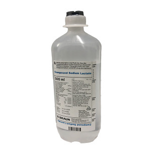 Dịch truyền Compound Sodium Lactate B.Braun (500ml)
